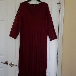 Cute Maroon Dress